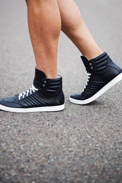 buty sneakers black ajpa