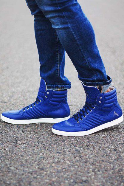 buty sneakers blue ajpa