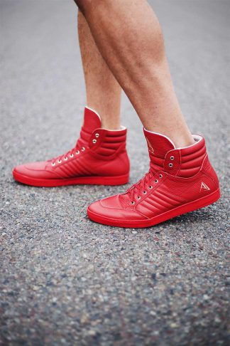 buty sneakers red ajpa