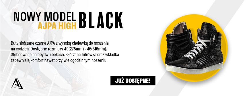 ajpa high nowy model black sklep