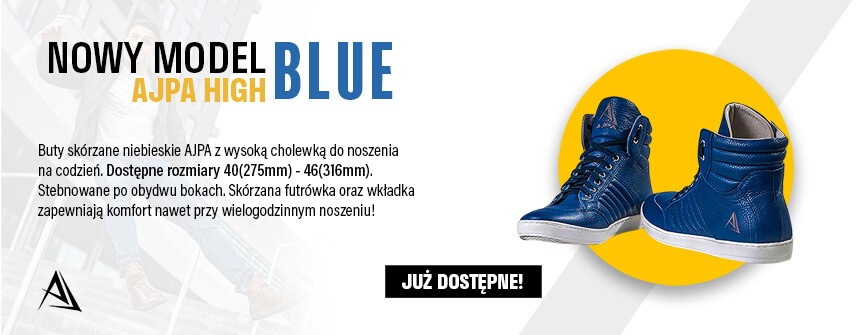 ajpa high nowy model blue sklep