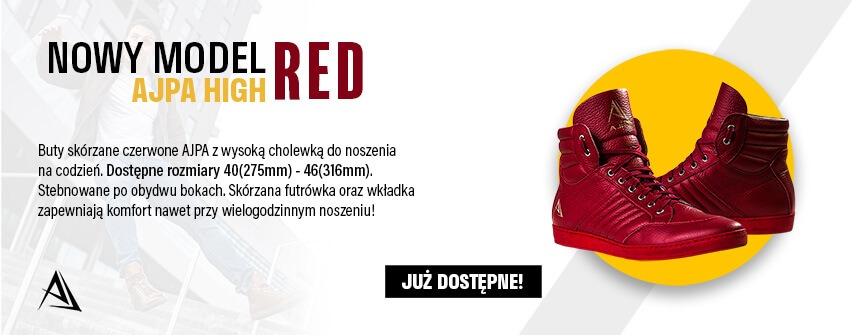 ajpa high nowy model red sklep