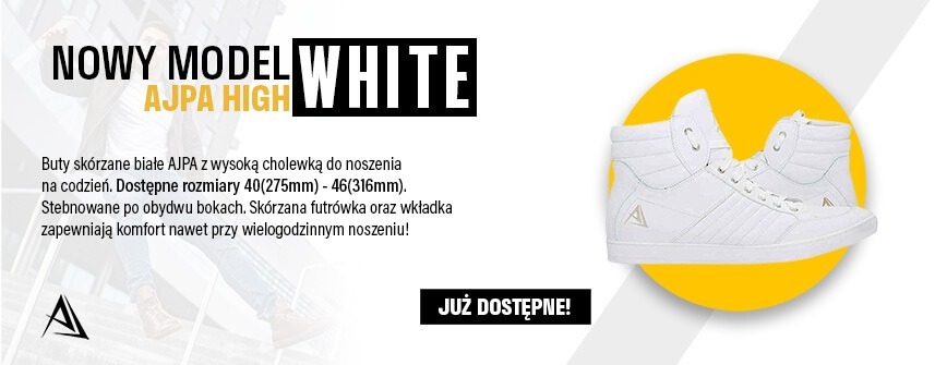 ajpa high nowy model white sklep
