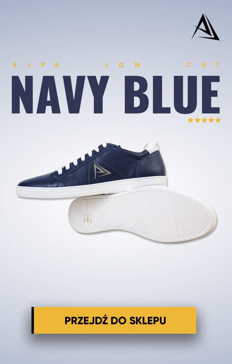 ajpa navy blue buty telefon