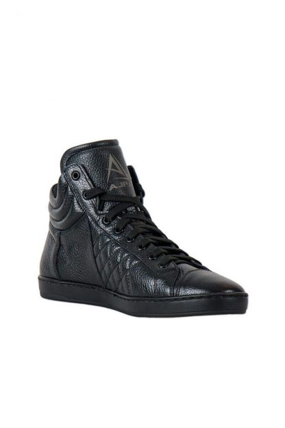 Ajpa mid quilted black 4