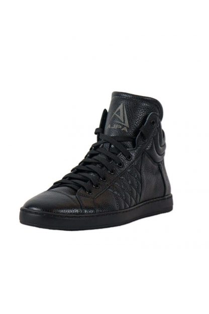Ajpa mid quilted black 6