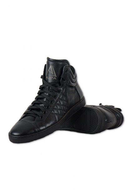 Ajpa mid quilted black 8