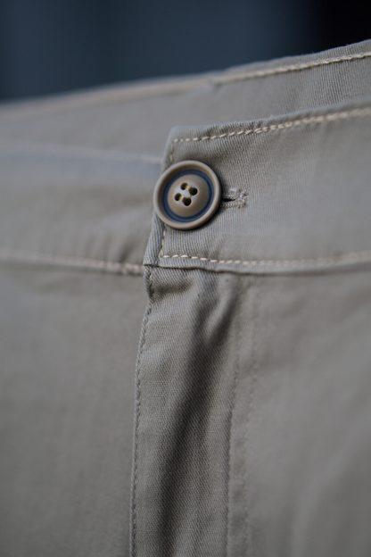 ajpa krótkie spodenki chino szare materiał
